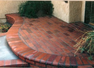 Stamped Concrete Richardson TX - McFall Masonry & Construction - decorative-brick-entryway-300x218
