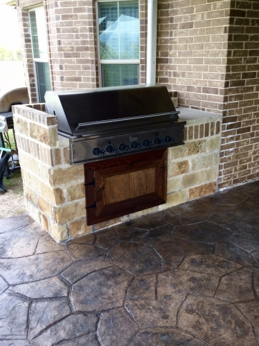 outdoor kitchen and fireplace. Whether You Re Interested In A Basic Or Specialty Deck  Outdoor Kitchen Fireplace One Of Kind Outdoor Kitchens BBQ S Argyle TX McFall Masonry Construction