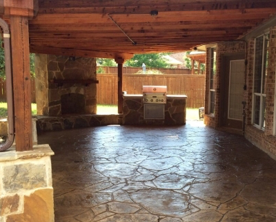 Concrete Patios Garland