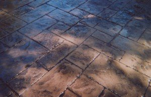 Decorative Concrete Grapevine