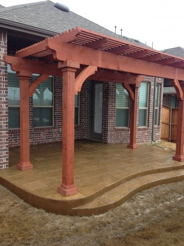 Wood Patio Covers & Fencing Argyle TX | McFall Masonry & Construction - photo_3_